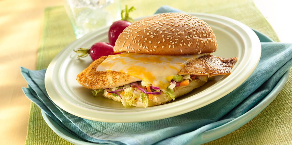 Easy Cajun Fish Sandwiches Sargento