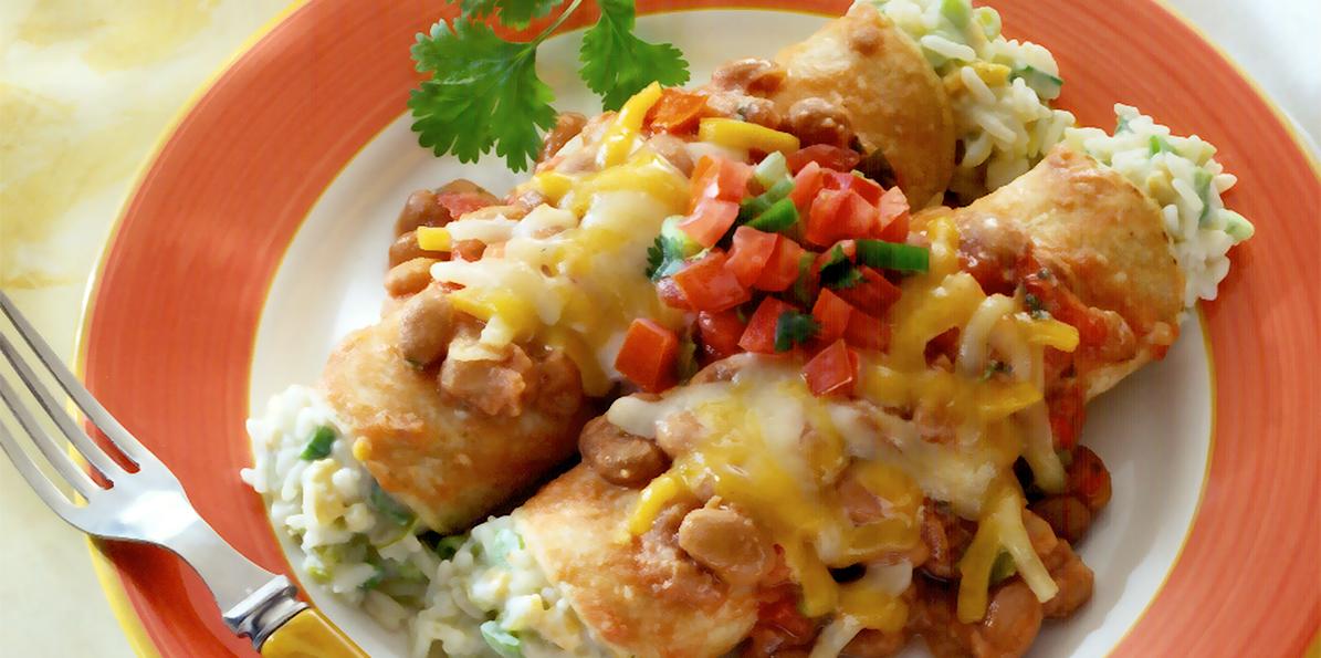 Cheese & Rice Enchiladas | Sargento
