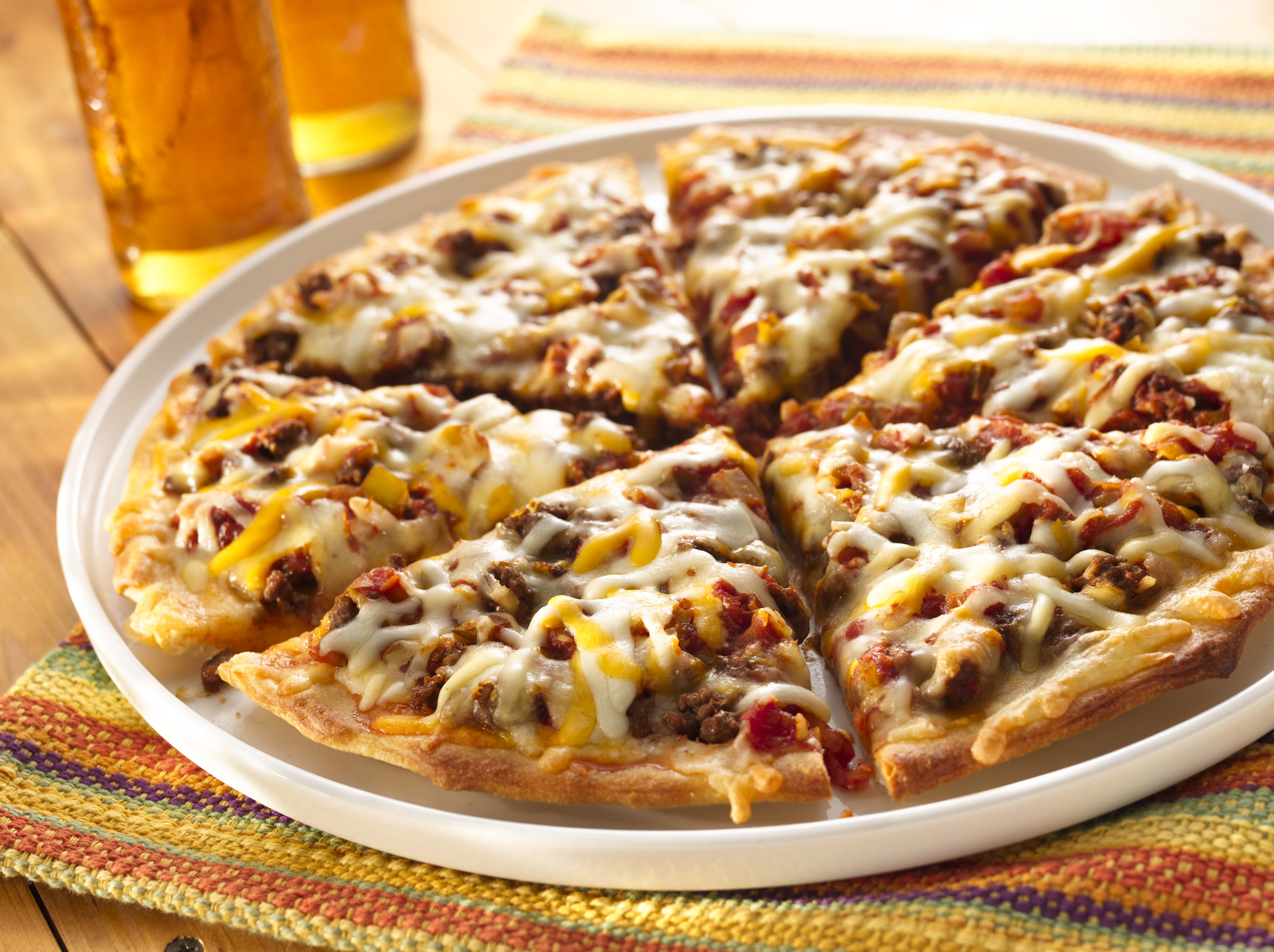 Mexican Pizza Recipe Sargento 174 Shredded 4 Cheese Mexican