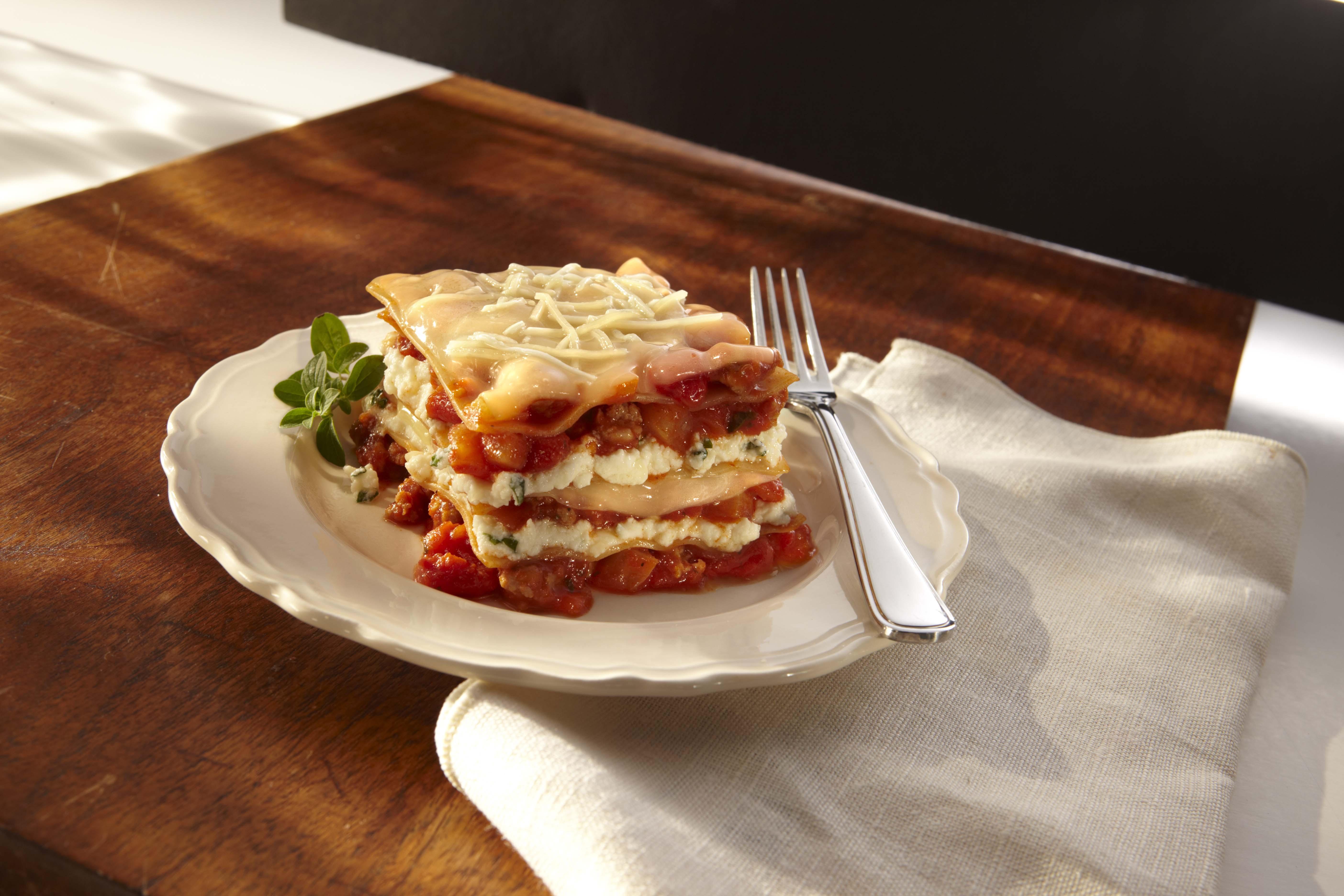 Sausage Fresh Fennel Lasagna | Sargento® Ricotta Cheese