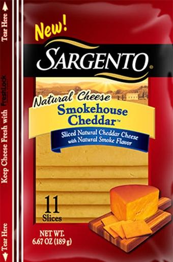 Sargento® Sliced Smokehouse Cheddar™ Cheese