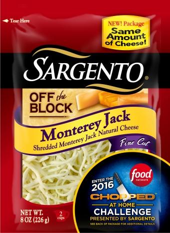 Sargento® Fine Cut Shredded Monterey Jack Cheese