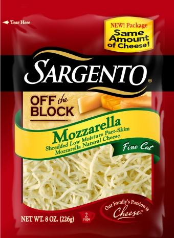 Sargento® Fine Cut Shredded Mozzarella