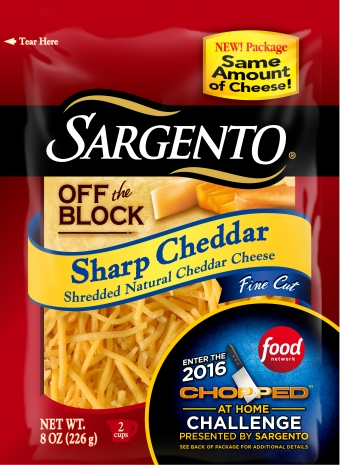 Sargento® Fine Cut Shredded Sharp Cheddar Cheese