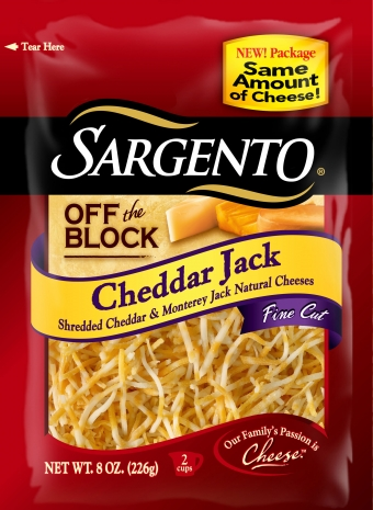 Sargento® Fine Cut Shredded Cheddar Jack Cheese