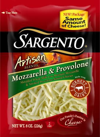 Sargento® Artisan Blends® Shredded Mozzarella & Provolone Cheese