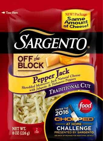 Sargento® Traditional Cut Shredded Pepper Jack Cheese
