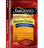 Sargento® Sliced Medium Cheddar Cheese