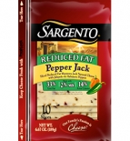 Sargento® Sliced Reduced Fat Pepper Jack Cheese