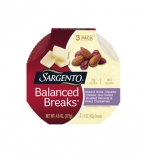 Balanced Breaks® Natural White Cheddar Cheese with Almonds and Dried Cranberries