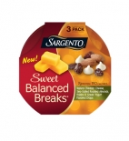 Sweet Balanced Breaks® Natural Cheddar Cheese with Sea-Salted Roasted Almonds, Raisins and Greek Yogurt Flavored Drops