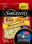 Sargento® Fine Cut Shredded Monterey Jack Cheese