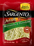 Sargento® Artisan Blends® Shredded Mozzarella & Provolone Cheese