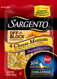 Sargento® Traditional Cut Shredded 4 Cheese Mexican