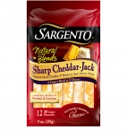 Sargento® Natural Blends® Sharp Cheddar-Jack Cheese Sticks