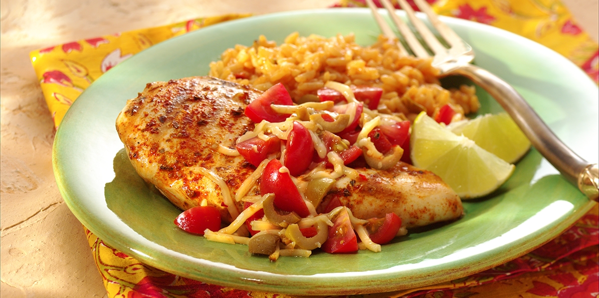 Grilled Chicken with Pepper Jack