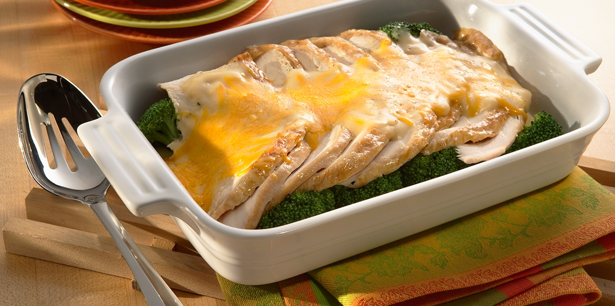 No more leftovers turkey divan sargento shredded mild for Divan turkey