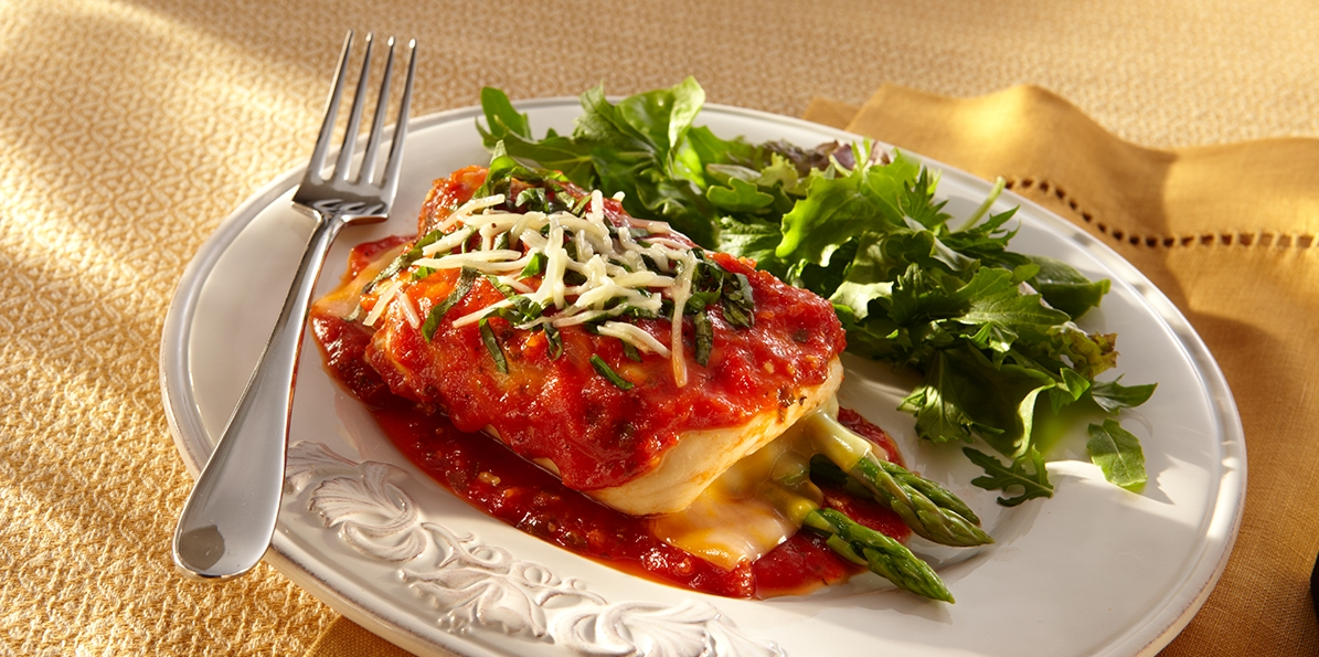 Chicken Rollatini with Asparagus