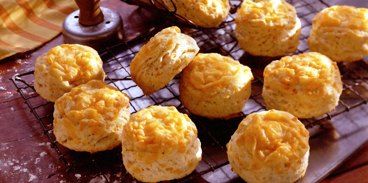Cheddar-Pepper Biscuits