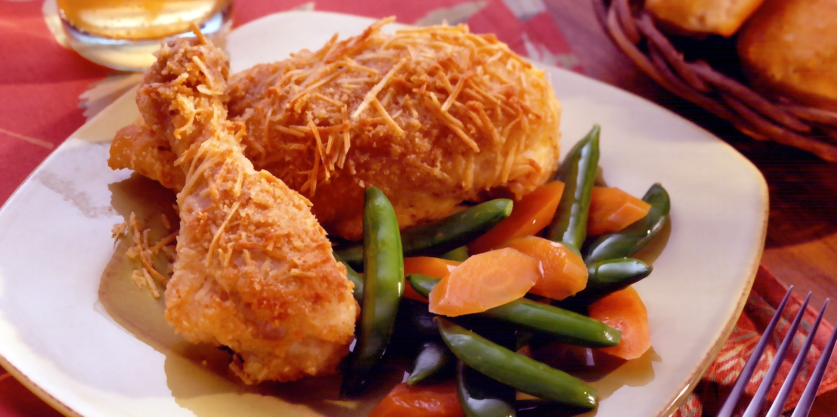 Crispy Cheesy Chicken