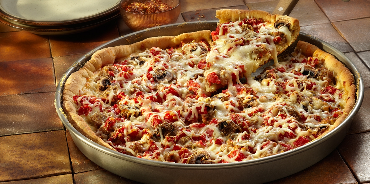 Easy Deep-Dish Pizza