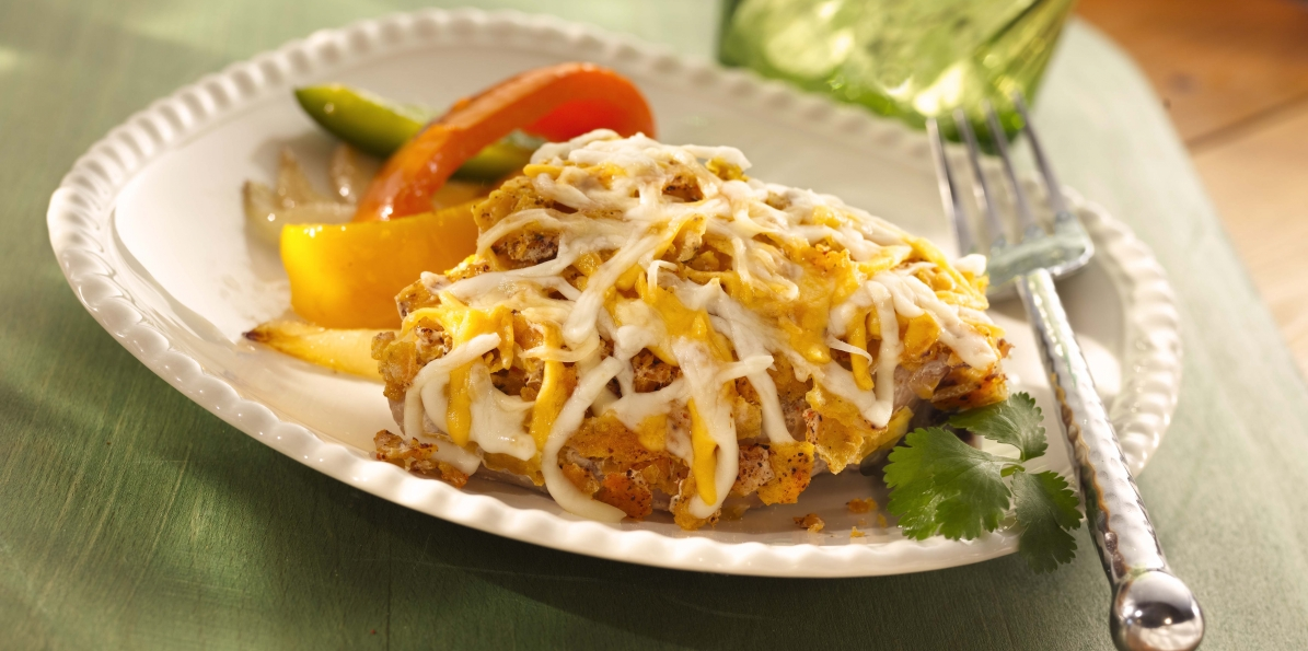 Crispy Baked Mexicali Chicken
