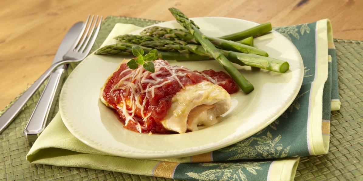 Prosciutto & Provolone Chicken Roll-ups