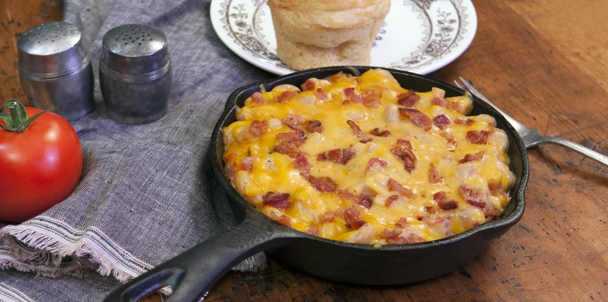 Bacon & Tomato Mac & Cheese