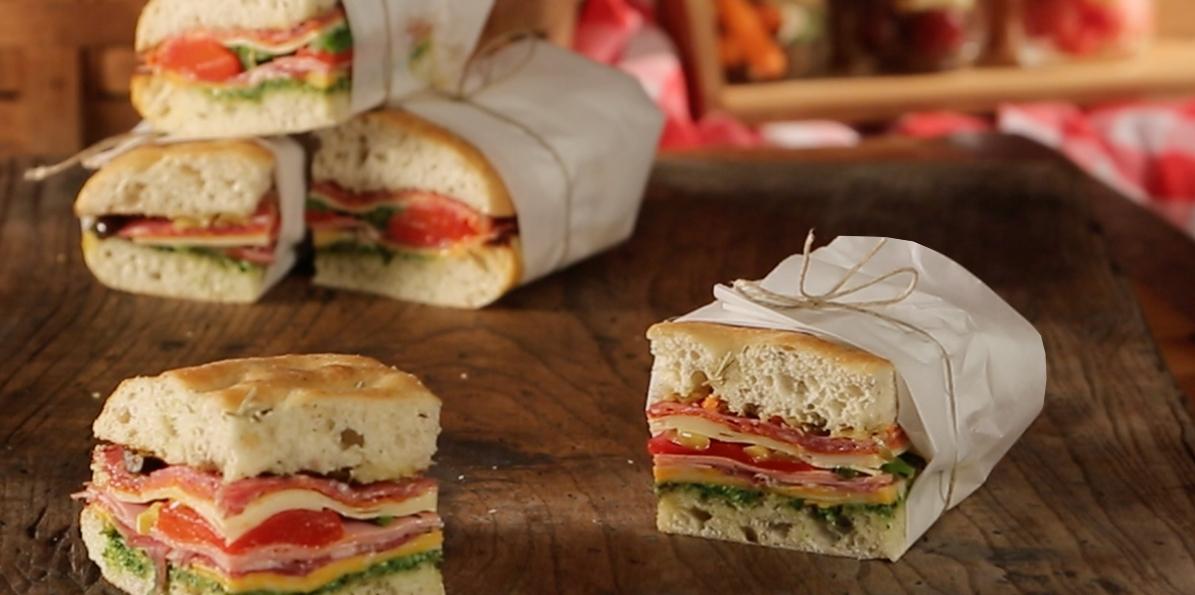 Perfect Picnic Sandwich