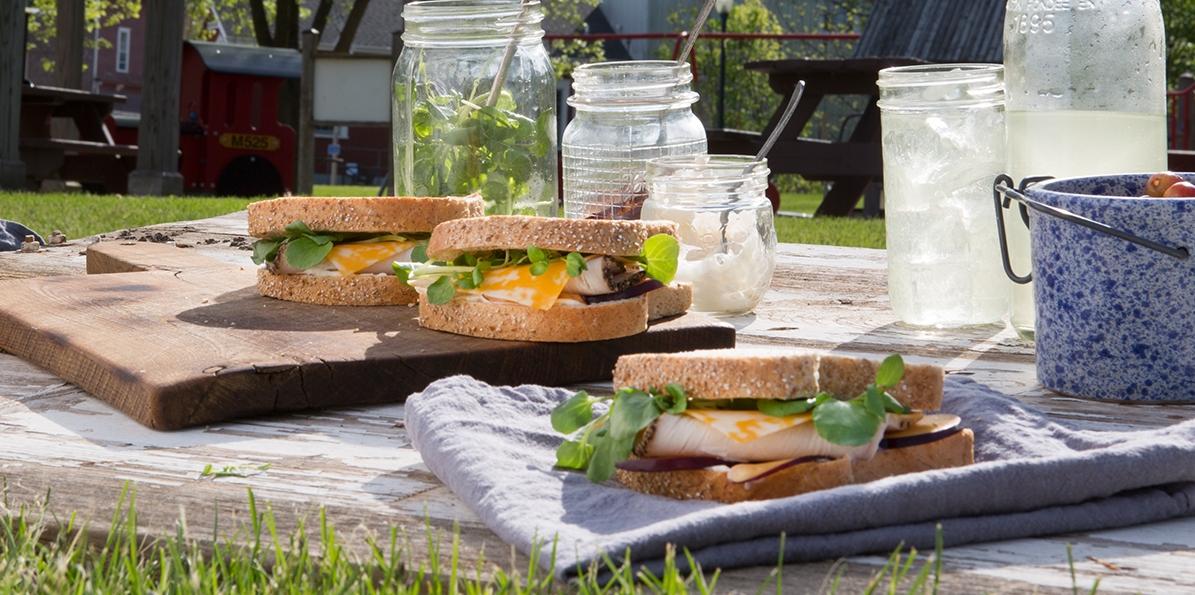Turkey & Plum Sandwich